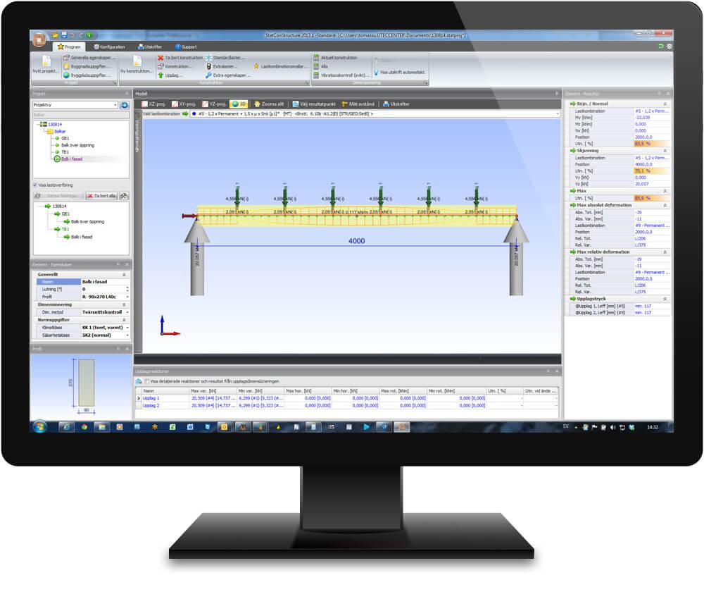 Statcon monitor